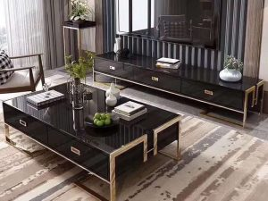 Carrera Coffee Table and TV Unit