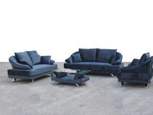 Chelsea 3 Piece Fabric Sofa