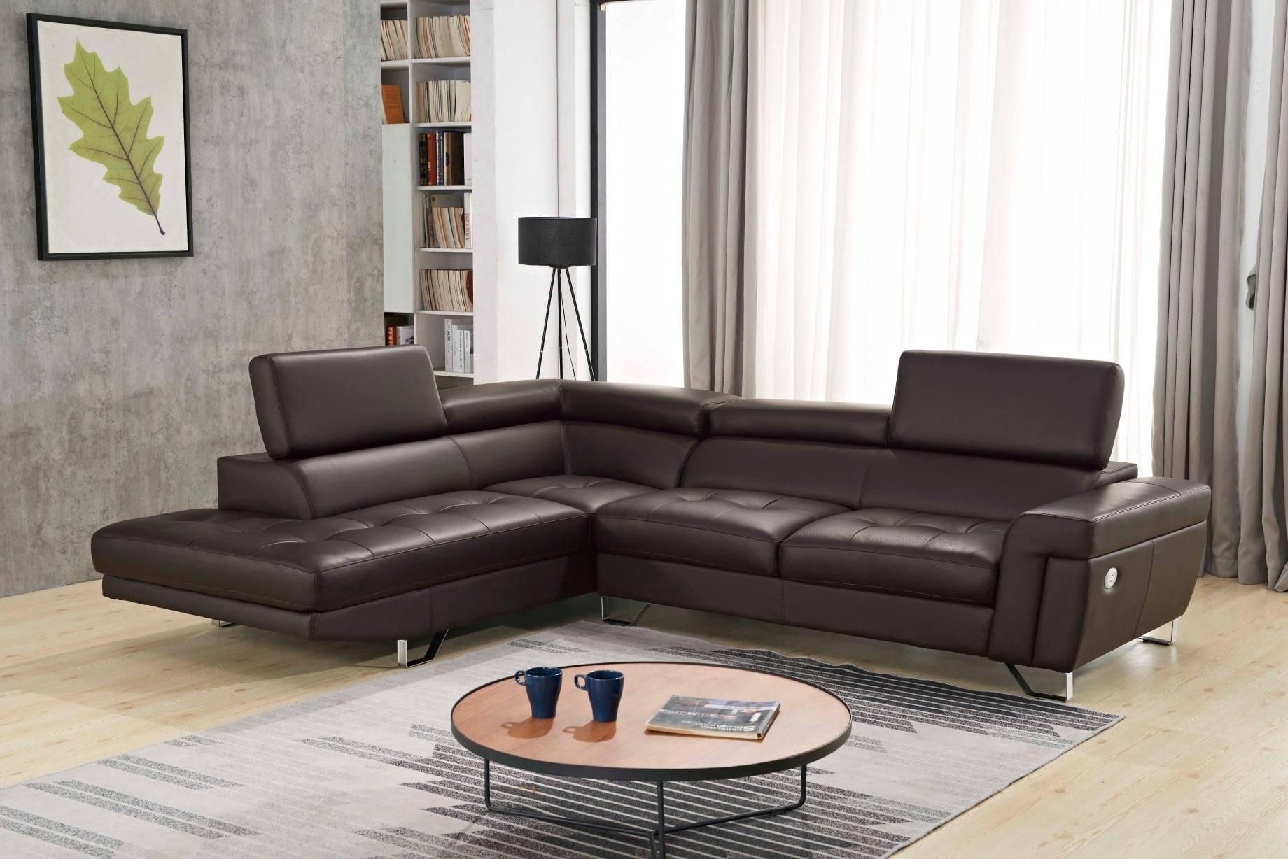 Chicago L-Shape Leather Sofa
