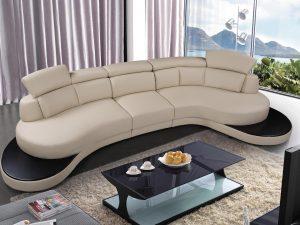 Columbus Sectional Leather Sofa