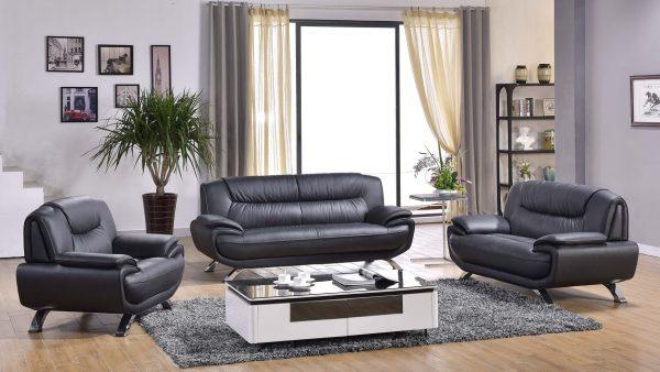 Venice 3 Piece Leather Sofa