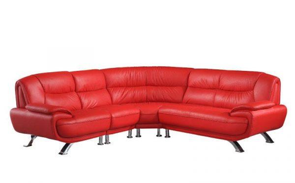 Venice Corner Leather Sofa